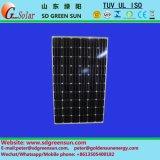 18V 140W-155W panel de energía solar polivinílico con tolerancia positiva