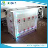 Im FreienDesign Commercial Acrylic Folding Lighted Mini Bar Counter für School und Shop