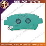 Le véhicule durable partie l'utilisation des garnitures de frein 04465-13050 pour Toyota