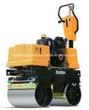 Compresor vibratorio hidráulico Jms08h del rodillo de camino del Ce 800kg por completo