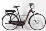 Bicicleta elétrica com o motor psto MEADOS DE máximo de 36V250W Bafang