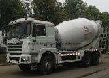 Shacman 3개의 차축 10 입방 미터 시멘트 믹서 트럭