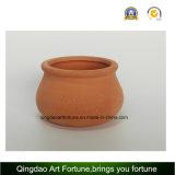 Tazón de fuente-Media de cerámica de la arcilla Al aire libre-Natural