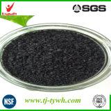 Carbón activado a base de carbón lavado ácido