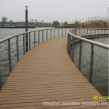 140&30 Holllow WPC Decking mit Cer Approved