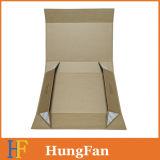 Верхнее качество лоснистое/коробка подарка бумаги хранения слоения Matt складная с логосом