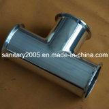 Steel di acciaio inossidabile Equal Pipe Tee per Food Industry