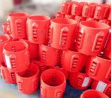 Manufatura do centralizador da embalagem do campo petrolífero do GOST do API para a curva e o centralizador rígido