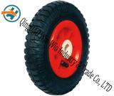 Roda de borracha Wear-Resistant usada na roda do rodízio (8*2.50-4)