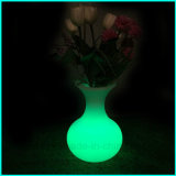 2017 New Waterproof LED Furniture Éclairage Décoration Vase Flower Pot