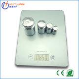 Escala de pesaje electrónica de la cocina de la visualización del LCD de la alta precisión