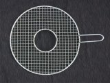 أتمّت شبكة شبكة [بّق] أداة - شبكة شبكة حصير أنّ يسمح دخان أن يمرّ كلّيّا - [نون-ستيك] - لأنّ شبك, مدخّن وأفران