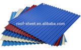 Покрашенный лист толя ясной пластмассы Corrugated