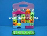 Jouets éducatifs drôles chauds, bloc en plastique de Buklding de jouets du bébé DIY (885368)