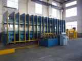 Cristal de exposición de goma de la máquina de Qingdao que cura la máquina de la prensa para la hoja de goma