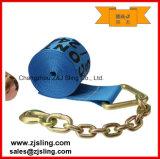 "cinta 4 "" azul da catraca da carga de 4 "" extensões Chain de X 60 '"