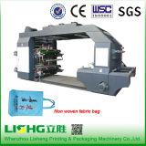 Nonwoven печатная машина ткани