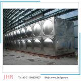 Fabrikant van China drukte de Geassembleerde Tank van de Opslag van het Water van het Roestvrij staal van het Comité