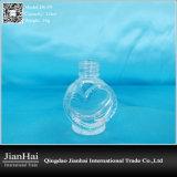 De Fles van het Glas van de Vorm van het hart voor Nagellak