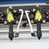 Máquina de corte e gravura a laser para placas de acrílico em madeira Troféu
