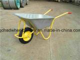 Одиночное Wheel Wheelbarrow Wb5009 с Colorful Tray