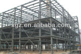 Гальванизированная и покрашенная рамка стальной структуры стальной рамки для здания стальной структуры