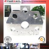 陽極酸化の機械化アルミニウム部品のフライス盤予備CNCの部品