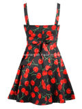 Robe de la cerise des femmes, habillement inspiré par cru, robe de femmes (CS-D2097)