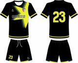 Healong Knitted Sublimation barato atacado Soccer Jersey
