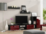 Colorful TV Cabinet with High Gloss Drawers (HHTV02)