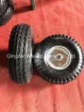 Rotella pneumatica della gomma della riga della barra di rotella