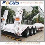 40t 60t 80t de Speciale Semi Aanhangwagen van de Vrachtwagen van Lowbed van het Voertuig