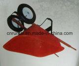 Caminhão de mão da bandeja/Wheelbarrow vermelhos resistentes