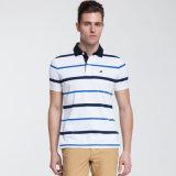 Camicia di polo su ordinazione del Mens di colore di stile casuale degli uomini di estate di alta qualità
