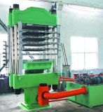 Máquina de formação de espuma Vulcanizing da borracha da placa da imprensa