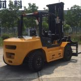hauteur de 6m chariot élévateur diesel de 7 tonnes avec le mât triple
