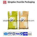 Saco de empacotamento do empacotamento de alimento do saco do arroz grande do vácuo do tamanho