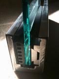 완전히 고품질 Frameless U 기본적인 채널 및 박판으로 만들어진 강화 유리를 가진 유리제 난간 시스템