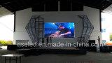 Visuel à grand écran polychrome extérieur de P10 DEL