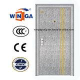 Porte extérieure gentille de garantie d'acier inoxydable de modèle (W-GH-09)