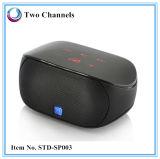 Mini altavoz sin hilos compacto de Bluetooth Boombox con el sonido ruidoso (STD-SP003)