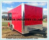 2017年のセリウムの熱い販売の通りの鋼鉄移動式食糧トラック