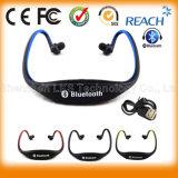 Auriculares sem fio estereofónicos de Bluetooth de 2015 esportes novos