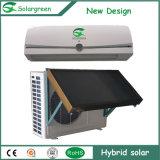 sul condizionatore d'aria solare fissato al muro ibrido di griglia