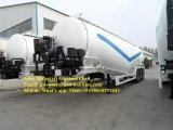 공기 압축기 3 차축 트레일러를 가진 건조한 시멘트 분말 트럭 트레일러는 공급 사일로 반 크게 한다