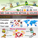 Cadeaux personnalisés de promotion avec des aimants Espagne Barcelone (RC-SN) de réfrigérateur de PVC