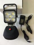 15W LED 자석 근거한 재충전용 플러드 일 빛