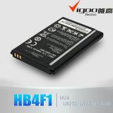 Batería del teléfono móvil de la alta capacidad para la batería negro M865/C8650 de Hb5k1h de Huawei 1400mAh 3.7V