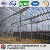 Atelier à pignon de structure métallique de bâti avec l'installation