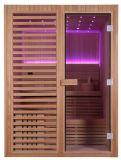 Mini sauna asciutta superiore di legno Cabine M-6038 del cedro rosso della Camera di sauna